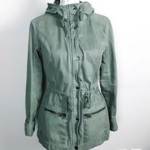 HOLLISTER CALIFORNIA ARMY UTILITY JACKET